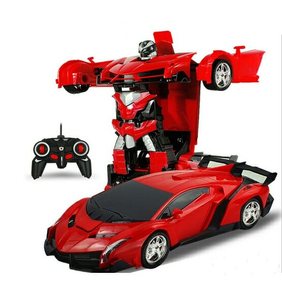Robot Car No Touching Transformed