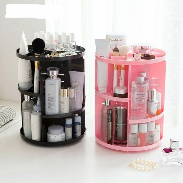 360 Rotating Make-up Organizer