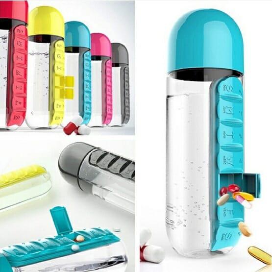 Pills Water Bottle