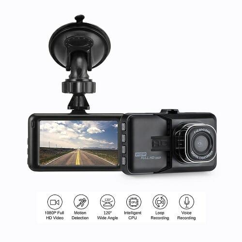 3″Dash Camera Car DVR Dash Cam Video Recorder