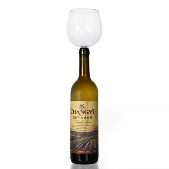 Wine Bottle Drinker