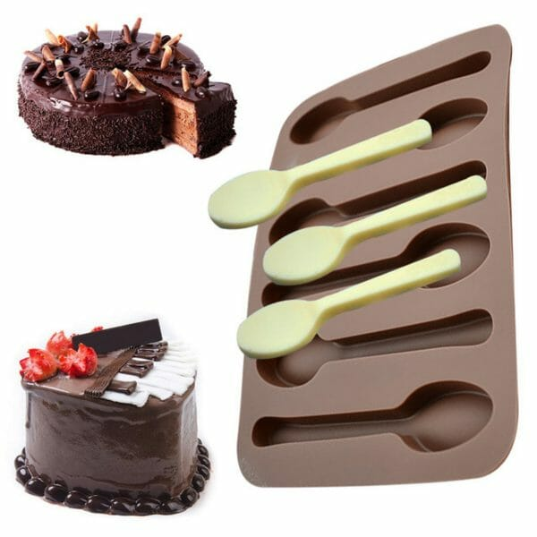 CHOCOLATE SPOON MOULD