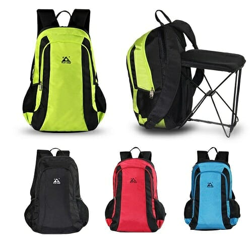 2-in-1 Chair Bag Backpack