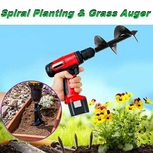Spiral Planting & Grass Auger
