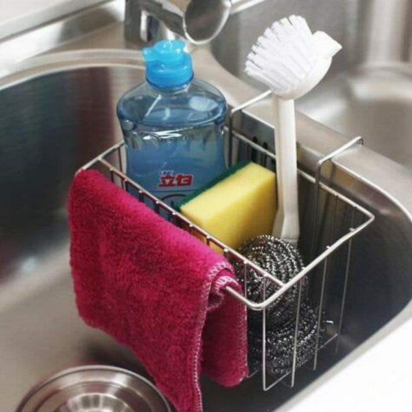 Kitchen Sponge Holder/Dish Brush Holder