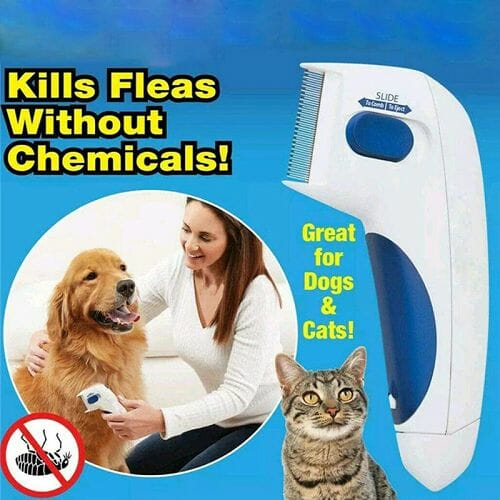 Electric Flea Comb For Pets