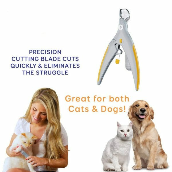 Professional Illuminated Pet Nail Clipper