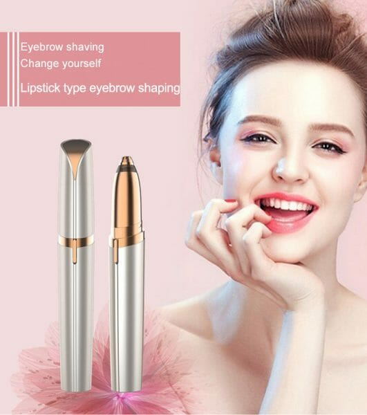 Multifunction Lipstick Eyebrow Trimmer