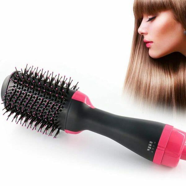 Multi-Hop Function Hot Air Comb Hair Dryer