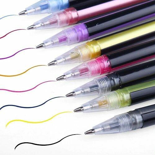 Glitter Gel Pens 12pcs
