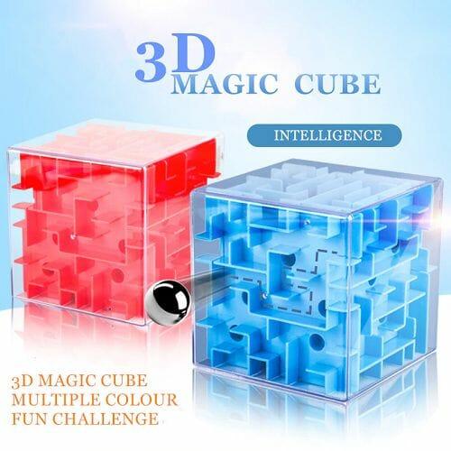 3D Cube Maze