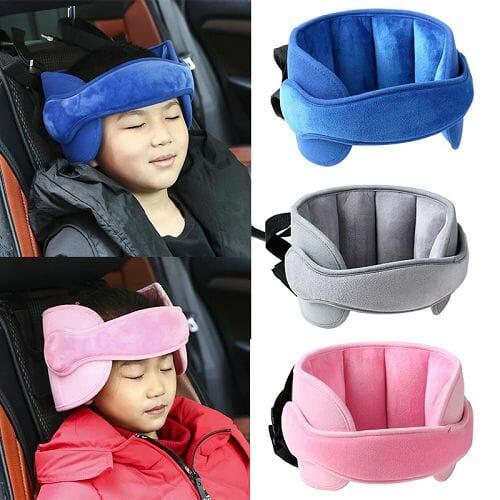Kids Car Set Head Supporter with Adjustable Belt