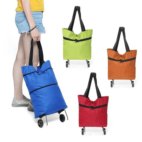 Shopping bag folding bag