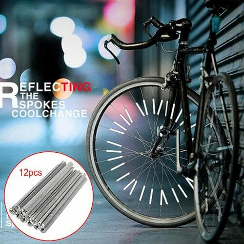 Bicycle Wheel Spoke Reflector (12PCS/PACK)