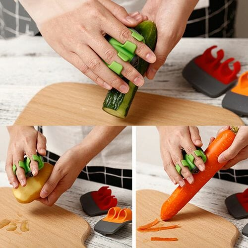 Sharp Blade Finger Peeler / 3PCS