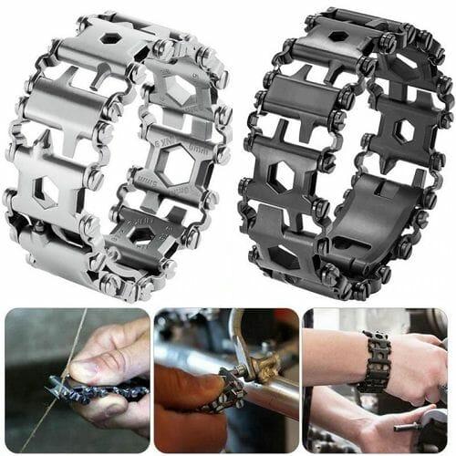 29 In 1 Multi-Tool Wearable Stainless Steel Bracelet