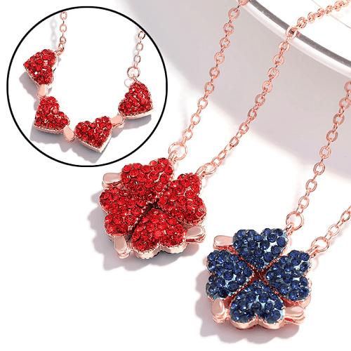 Women's Favorite S925 Silver Clover Necklace