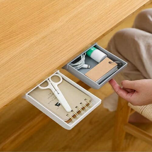 HIDDEN PASTE STORAGE DRAWER