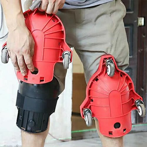 Rolling Work Knee Pads