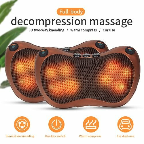 HEATED PILLOW MASSAGER