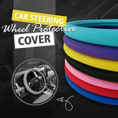 Silicone Auto Steering-Wheel Cover