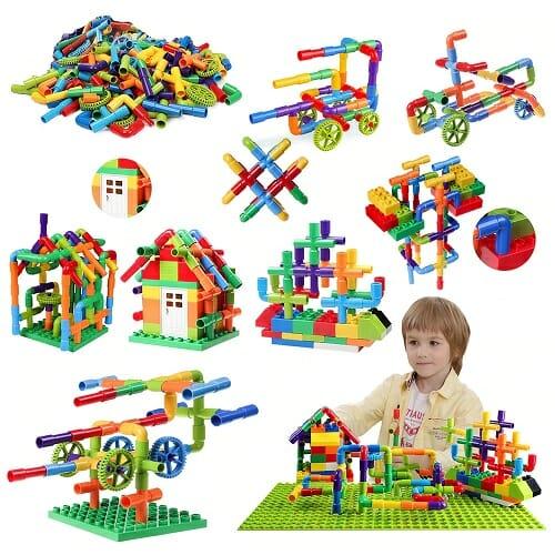Pipe Building Blocks Toy 72PCS