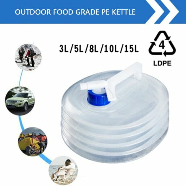 Foldable Water Bags – 8L