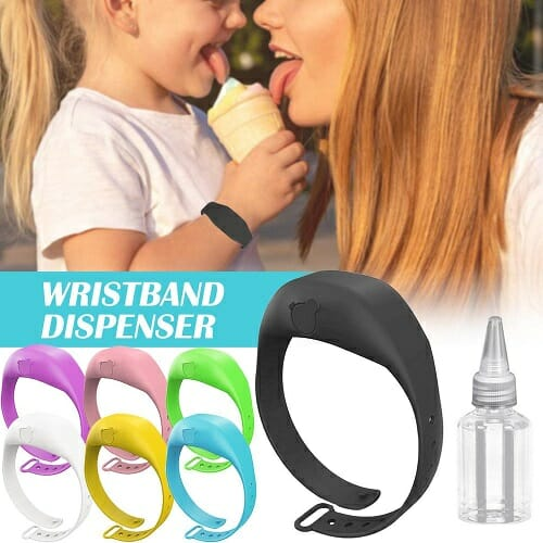 HAND DISPENSER ADJUSTABLE WRISTBAND