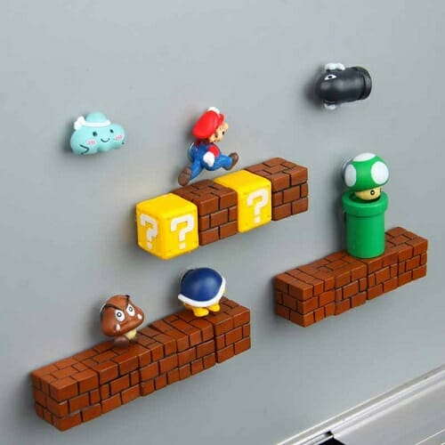 3D Super Mario Resin Fridge Magnets 14PCS Posted 1 week ago