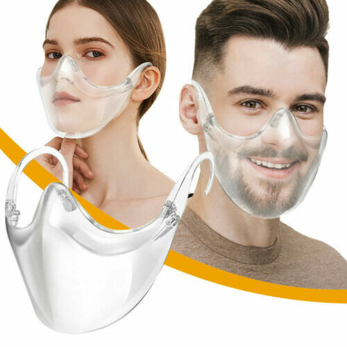 New Alternative Transparent Face Shield