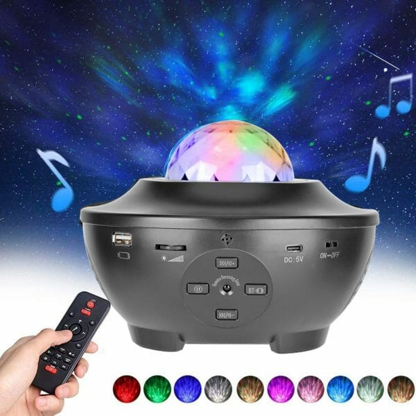 Starry Sky Galaxy Projector – Christmas Gift