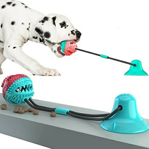 THE CHEWY BALL – TOY FOR TEETH CLEANING