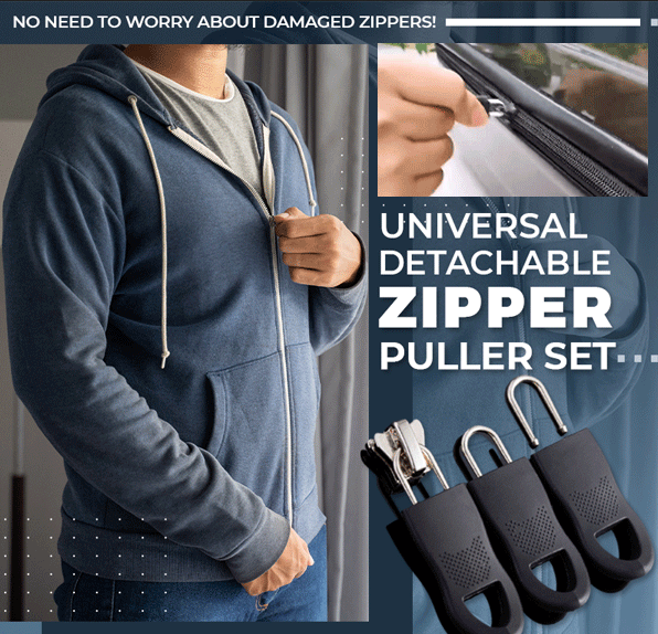 Universal Detachable Zipper Puller Set