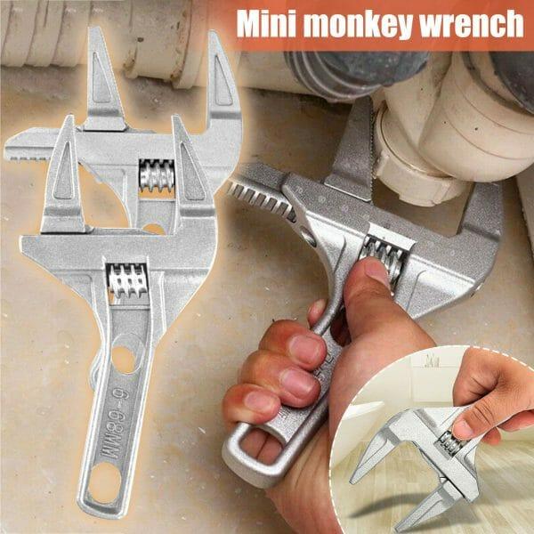 Super Wide Adjustable Monkey Wrench