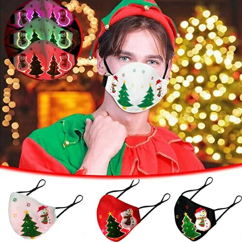 2020 CHRISTMAS LED LIGHT UP LUMINOUS MASK