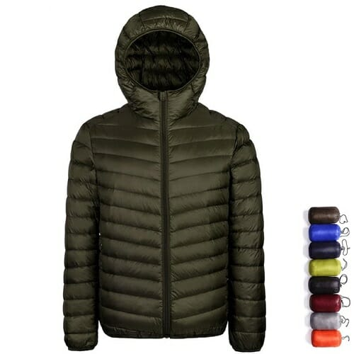 Plus Size Ultralight Down Jacket