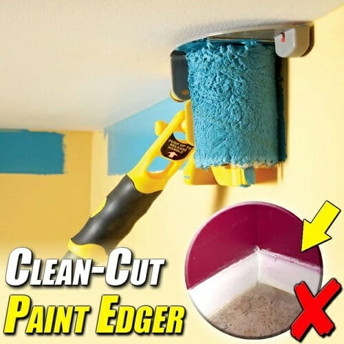 Clean Cut Paint Edger Roller
