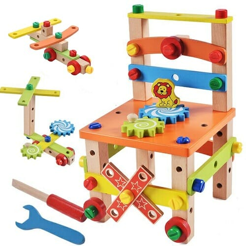Build Your Chair – Montessori Toys