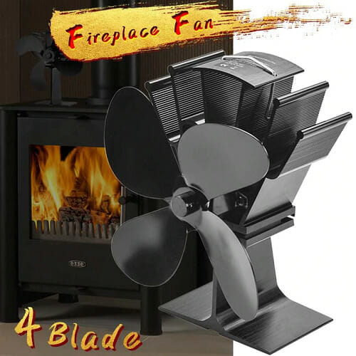 HEAT-POWERED STOVE FAN