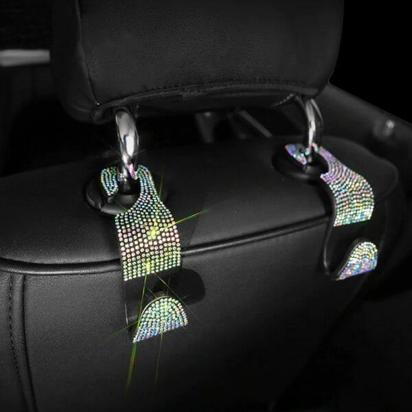 Car Backseat Hooks – 2pcs