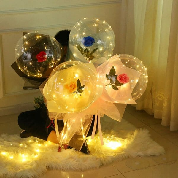 LED Romantic Lucid Rose Bouquet
