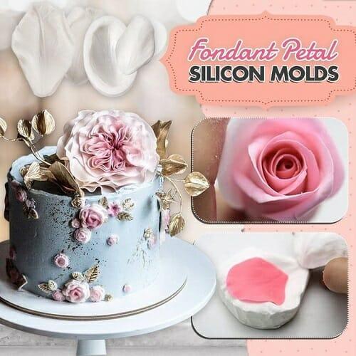 Fondant Petal Silicon Molds