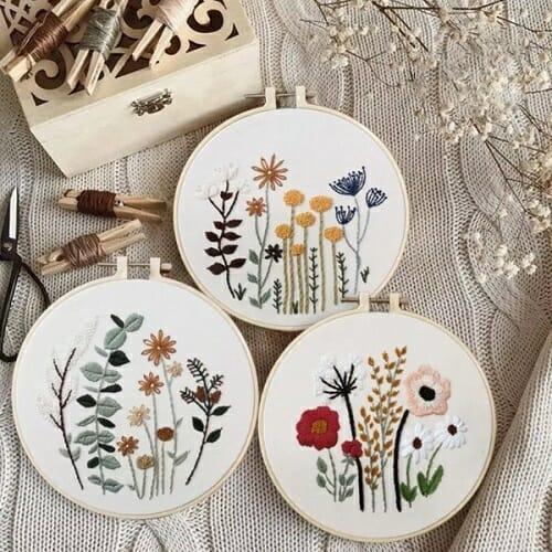 Floret Garden Embroidery Kit