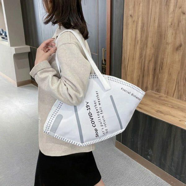 Big Capacity Face Protection Handbag
