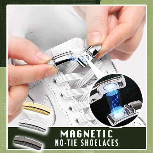 Magnetic No-Tie Shoelaces