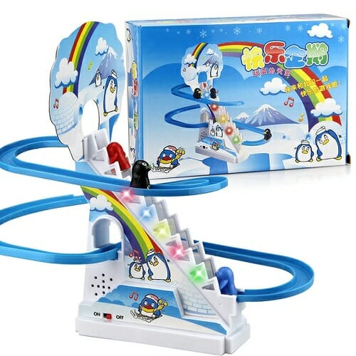 Climbing stairs early education toys