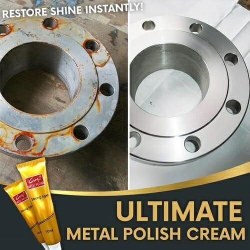 Ultimate Metal Polish Cream (3 PCS )
