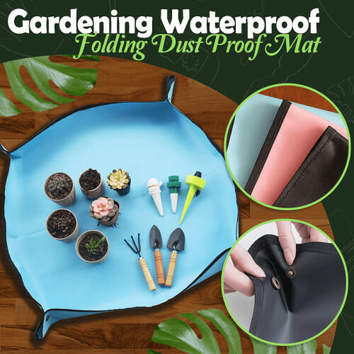 Gardening Waterproof Folding Dust Proof Mat