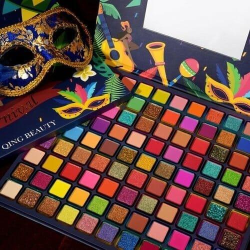 Brazilian Carnival Palette