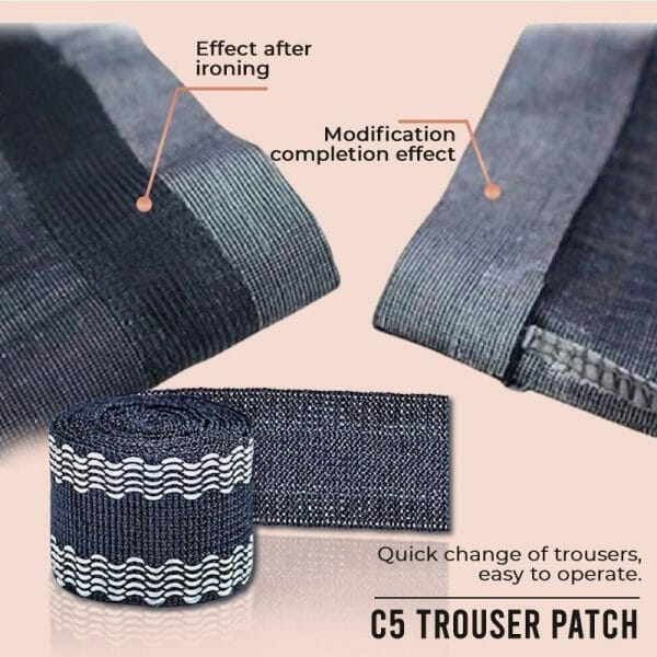 Pants Edge Shorten Self-Adhesive